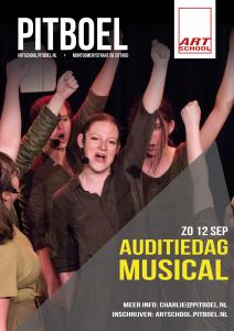 auditiedag musical van Pitboel Art School . zondag 12 september 2021