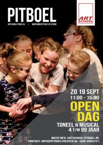 Open dag Pitboel Art School zondag 19 september 2021